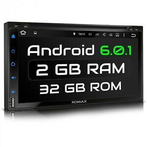 AUTORADIO-CON-ANDROID-6-0-1-4CORE-2GB-DVD-CD-NAVI-GPS-BLUETOOTH-WIFI-USB-SD-DAB