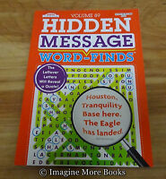 Hidden Message Word-finds Vol 89 79 Word Search Per Vol By Kappa