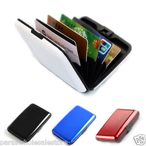 Waterproof 3 pcs Aluma Aluminium Cash Credit Card Holder Wallet Purse