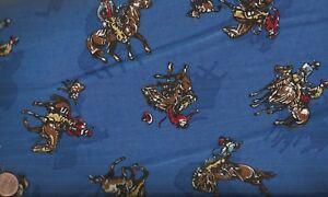Ride-Em-Cowboy-blue-rodeo-cowboys-broncos-Kaufman-fabric