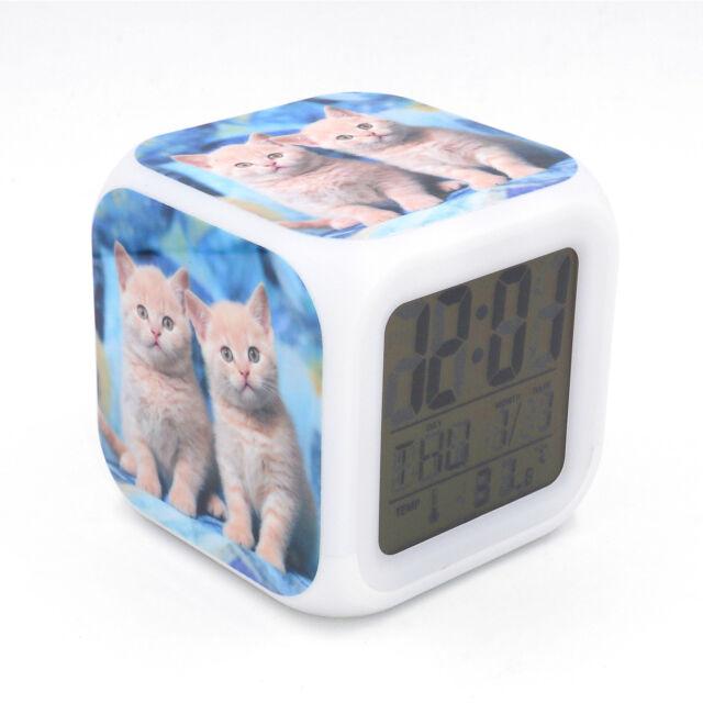 Led Alarm Clock Avengers Hulk Creative Digital Desk Alarm Clock for Kid Toy Gift
