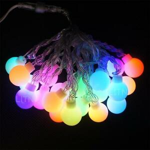 Colored String Lights For Patio : 20 G40 Outdoor Globe Patio String Lights 16.5 foot Color Gradual Changing bulbs eBay