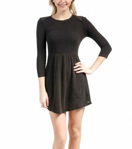 O'Neill Mazzy Dress Size M Fit & Flare 3/4 Sleeve