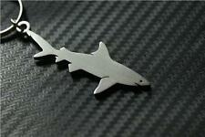 SHARK Keyring porte-clés keychain REEF SEA FISH BLACK TIP GREAT TIGER WHITE DOG
