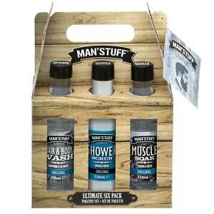 Technic-Man-Stuff-Ultimate-6-Pack-Bath-Body-Xmas-Toiletry-Gift-Set-999702