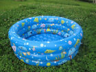 KIDS SWIMMING POOL FOR TODDLER INFANT& BABY INFLATABLE W PUMP INFLATE SWIM NEW