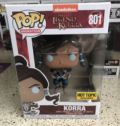 Funko POP 801 Legend of Korra Hot Topic exclusive DOUBLE BOX