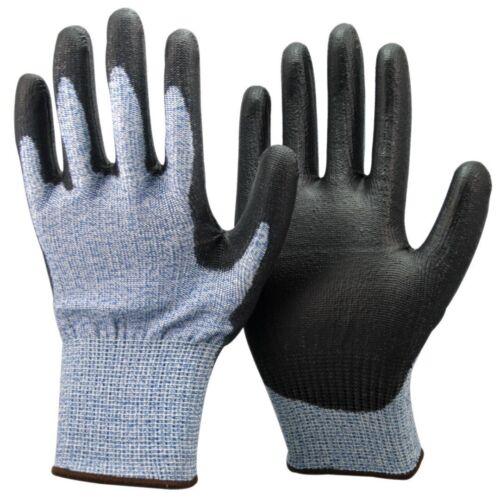 Unisex Black /& Blue Anti Cut Resistant Level5 Gloves.Gardening Work DIY Highest