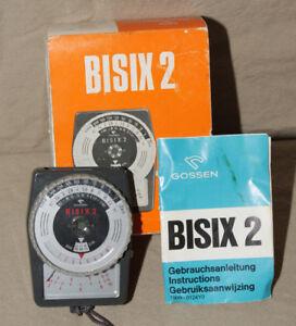 GOSSEN-BISIX-2-LIGHT-EXPOSURE-METER-WITH-BOX-INSTRUCTIONS-8690