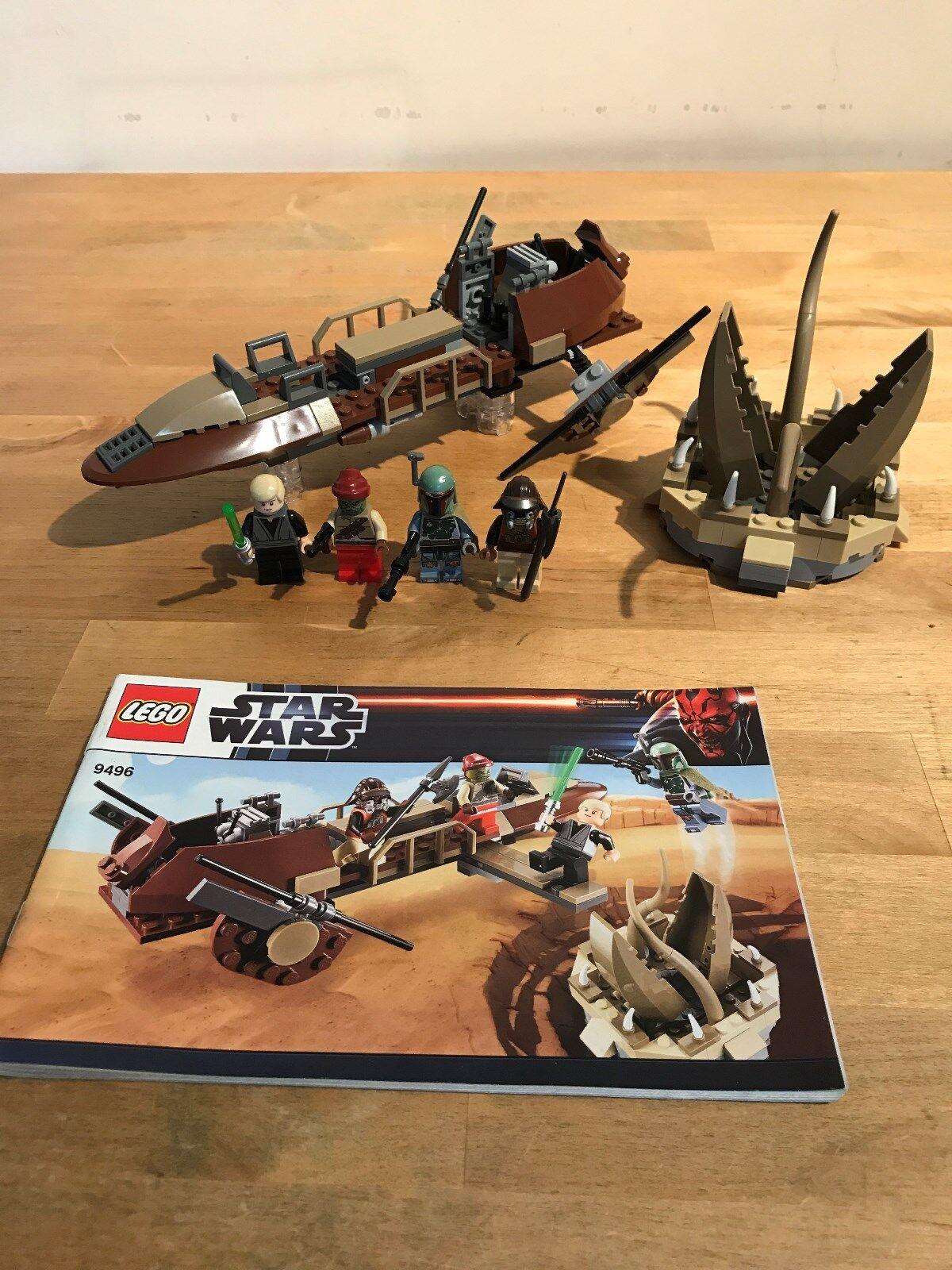 Lego Star Wars 9496 Desert Skiff (boxed)