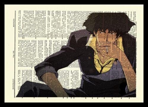 Cowboy Bebop Anime Dictionary Art Print Poster Picture Japan Manga Spike Spiegel