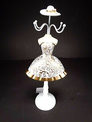 Large 32 cm Lady Mannequin Jewellery Stand Tree Display Necklace Holder nr.55