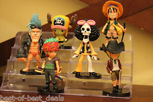 Cake-Topper-Luffy-Sanji-Chopper-Frank-Group-6pc-Set-Action-Figures-Free-Shipping