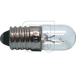 10x-Gluhbirne-E10-Rohrenlampe-Skalenlampe-6-3V-0-32A