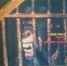Giuliano Sorgini Zoo Folle OST LP Four Flies Vinyl Italian soundtrack