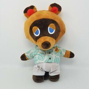 "Tom Nook Plush Animal Crossing New Horizons Stuffed Raccoon Toy Collectible 12"""