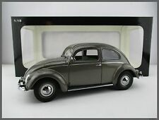 Volkswagen Käfer 1200 Limousine  1955  grausilber  AUTOart  1:18  NEU  OVP