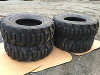 4 17.5-25 Loader L2/g2 Tires - 17.5x25 - 16 Ply - Heavy 232 Pound Tire