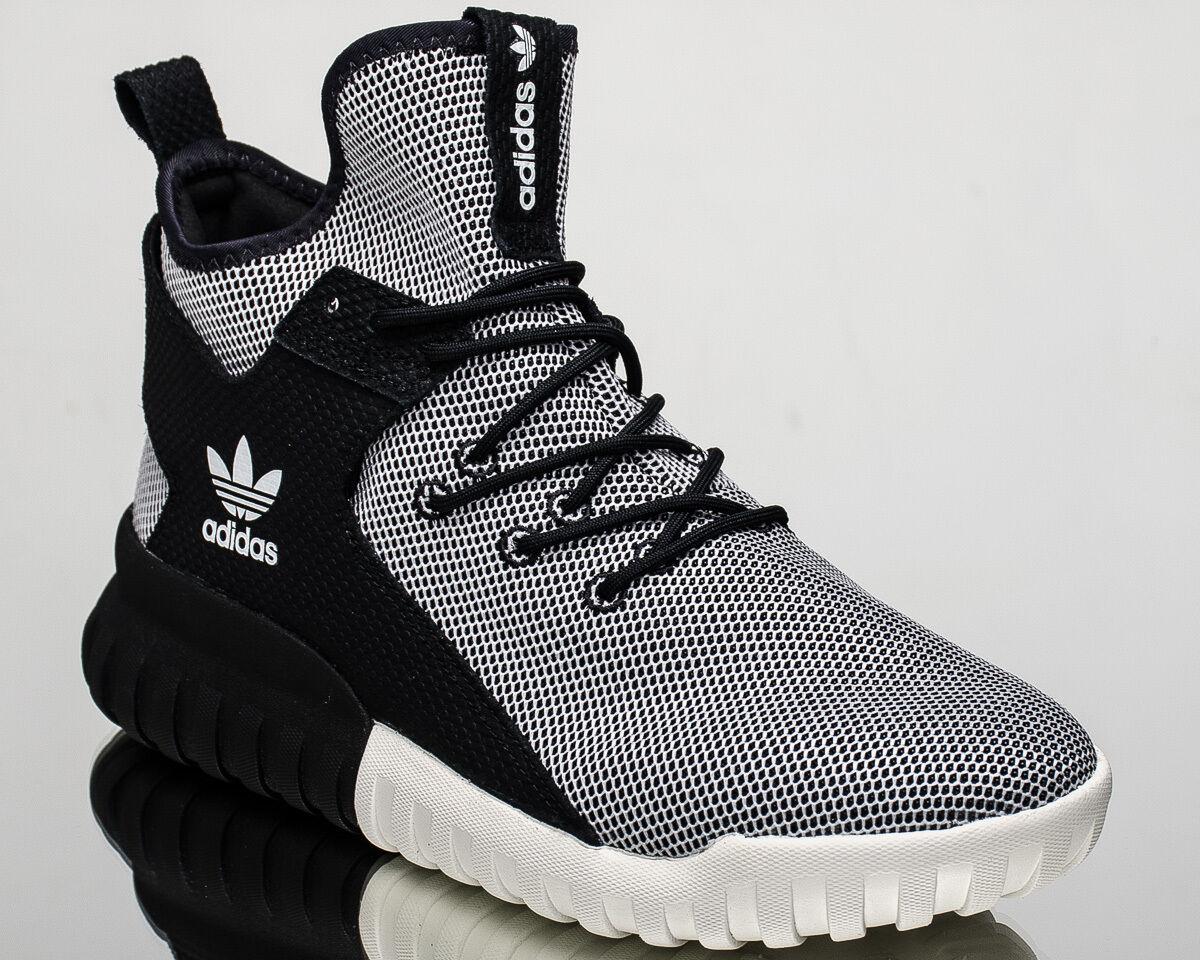 new product cf195 2aee6 Adidas originali di scarpe da ginnastica nuove tubolari x x x occasionale  tra bianchi e neri ba7782 b81885 ...