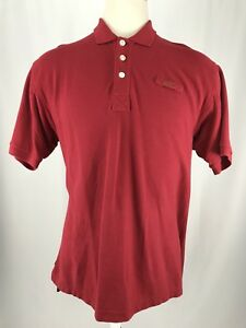 Orvis-Short-Sleeve-Red-100-Cotton-Polo-Shirt-Men-s-Size-Large-EUC
