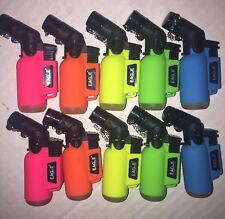 10 Eagle Torch Lighter NEON Windproof Angle  Butane Refillable LIMITED EDITION