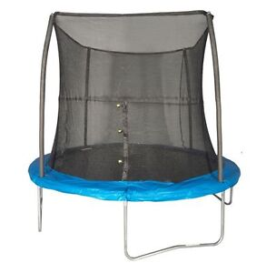 Jumpking 8 Foot Outdoor Trampoline And Safety Net