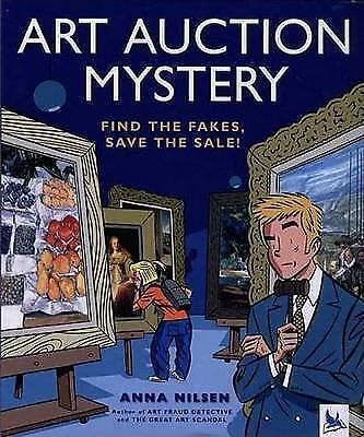 Art Auction Mystery-ExLibrary