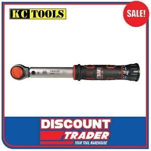 """AOK by KC Tools 1/4"""" Drive Adjustable Window Torque Wrench (3Nm-15Nm) - TWW15N"""