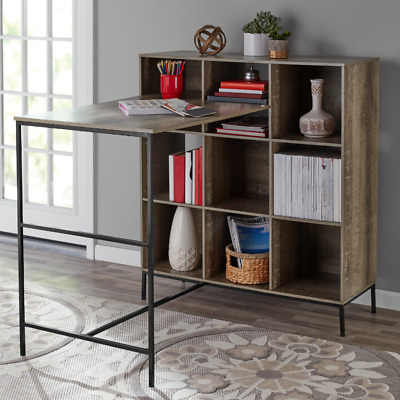 Craft Desks For Adults With Storage 9 Cubes Organizer Workspace