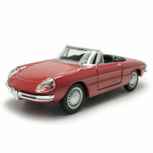 1/32 SCALA VINTAGE ALFA ROMEO SPIDER modello auto metal Diecast Collezione Regalo