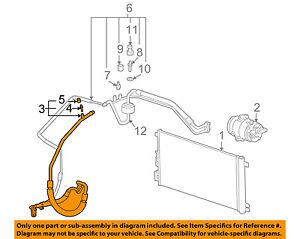 Pontiac GM OEM 05-06 G6 Air Conditioner-Discharge Hose 19244798