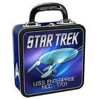 Star Trek USS Enterprise Square Tin Tote ...