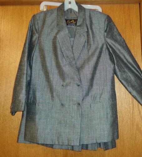 8 gonna Tailoring Donna Quality Made Cond Custom grigia Sam's 10 Abito Sz U6UHwZq7