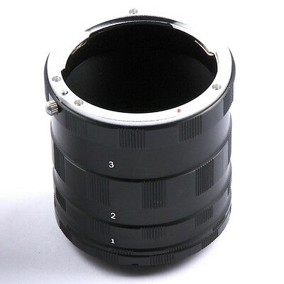 Camera Macro Extension Tube Ring Adapter for Canon Nikon Sony Olympus M42 DSLR
