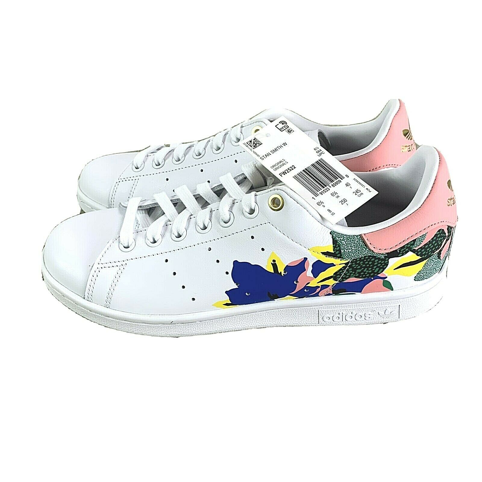 Size 8 - adidas Stan Smith x Her Studio London Floral Burst for ...