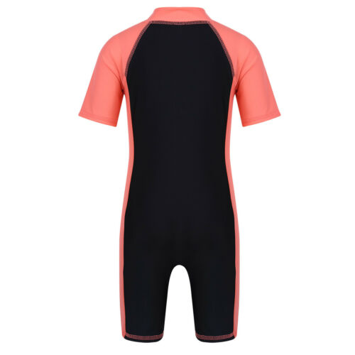 Swimsuit Sun Protection Swimwear Baby Boys Girls One Piece Rash Guard  UV 50