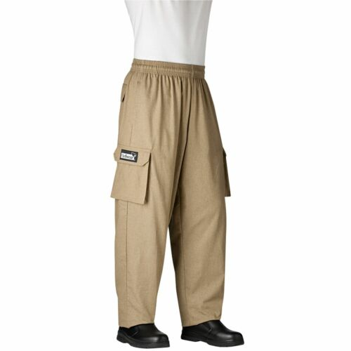 Chefwear 3200-34 Cargo Chef Pant Grain all sizes XS-5XL NEW!