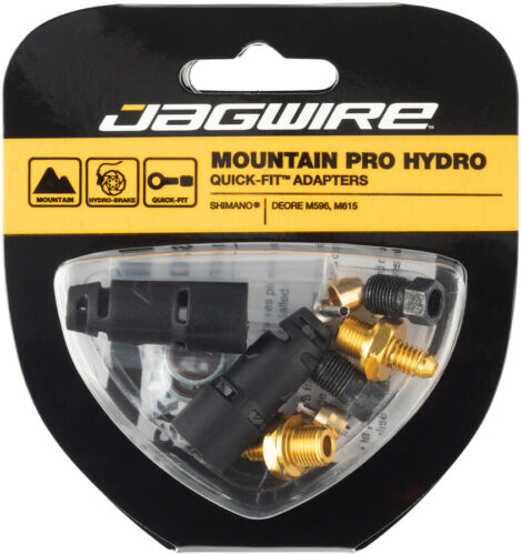 M615 Jagwire Mountain Pro Disc Brake Hose Quick-Fit Adaptor for Deore M596