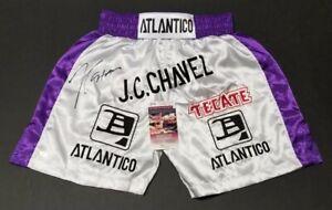 JULIO-CESAR-CHAVEZ-Signed-Autographed-ATLANTICO-TECATE-Custom-Trunks-L-WITNESS