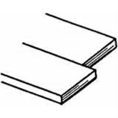 K /& S PRECISION METALS 8227 .093 x 3//4 x 12 Brass Strip