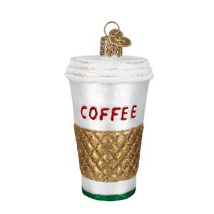 034-Coffee-to-Go-034-32171-X-Old-World-Christmas-Glass-Ornament-w-OWC-Box