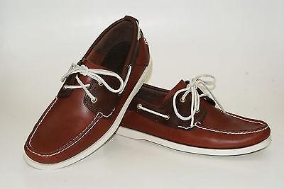 MSRP $120 6502R New Timberland EK Heritage 2Eye Boat Men Shoes Sz10.5