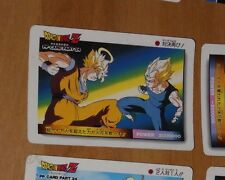 DRAGON BALL Z DBZ PP AMADA PART 24 CARDDASS CARD REG CARTE 1075 MADE IN JAPAN **
