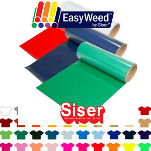 "Siser Easyweed Heat Transfer Vinyl HTV - Pick 5 Colors for $39.95, 12"" x 3ft Ea."