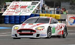 Calcas Aston Martin Dbr9 Le Mans 2010 52 1:32 1:43 1:24 1:18 Slot Decals