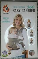 Ergo Baby Four Position 360 Carrier - Taupe/lilac - Brand In Unopened Box