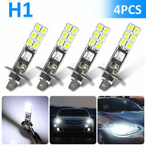 4PCS-H1-6000K-Super-White-80W-CREE-LED-Headlight-Bulbs-Kit-Fog-Driving-Light