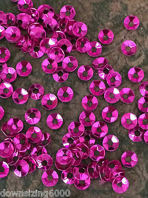 Sequins 3mm Light Amethyst Purple Metallic Tiny Cup Coolie Hat Choose Pack Size