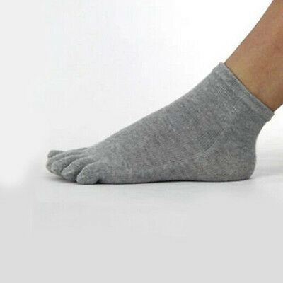 Men Women Unisex Popular Fashion Sports Socks For Five 5 Finger Toe Shoes