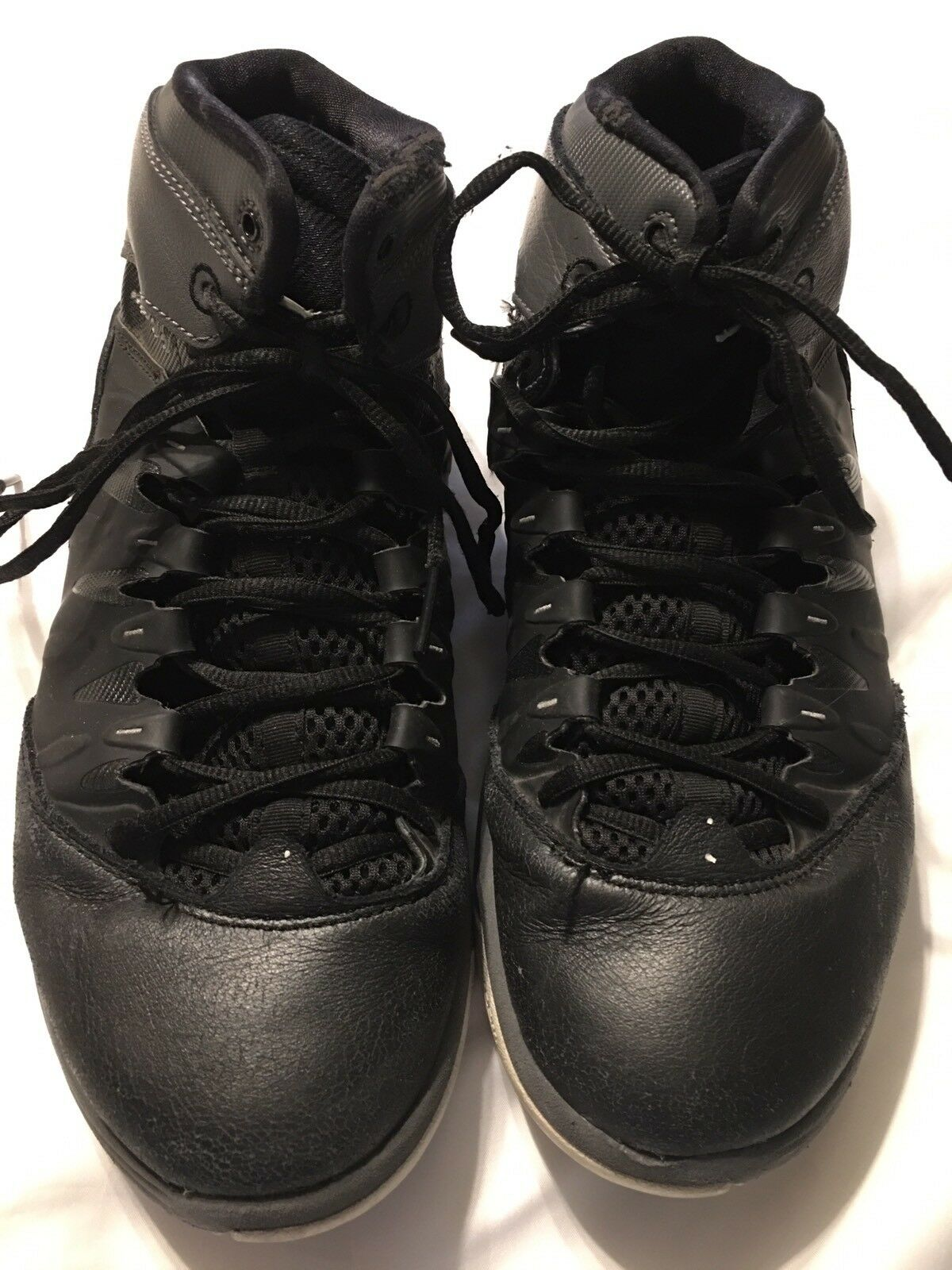 Nike Zoom Air Jordan Retro Black sz 10.5 No 104314443 Reduced